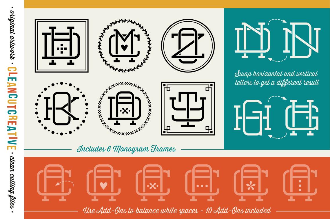 Download Magical Monogram Maker - DIY intertwine   Design Bundles