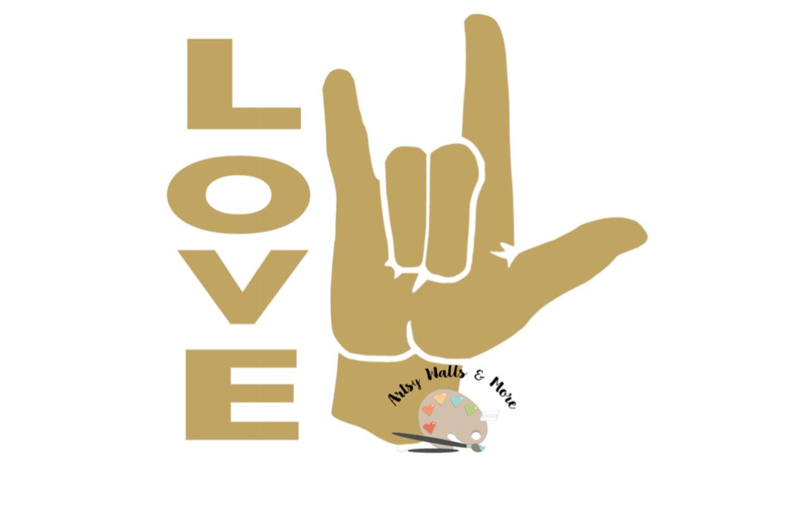 Download I love you sign language SVG, clipart c | Design Bundles