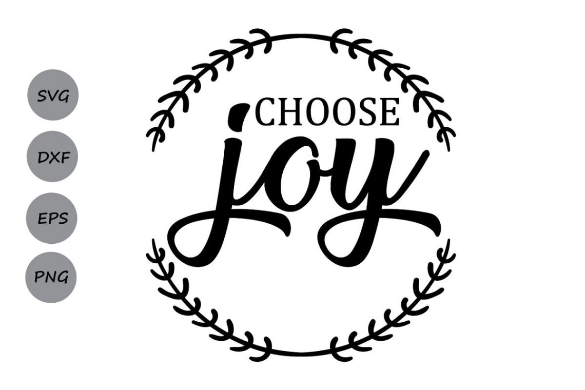 Download Choose Joy SVG, Christmas SVG, Choose H | Design Bundles