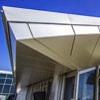 Terminal Internacional LAX apresenta projeto de telhado com ondas oceânicas com Alucobond painéis de acm
