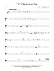Arranged and performed by tommaso guitar. Sweet Home Alabama By Lynyrd Skynyrd Ed King Digital Sheet Music For Alto Sax Solo Download Print Hx 387470 Sheet Music Plus
