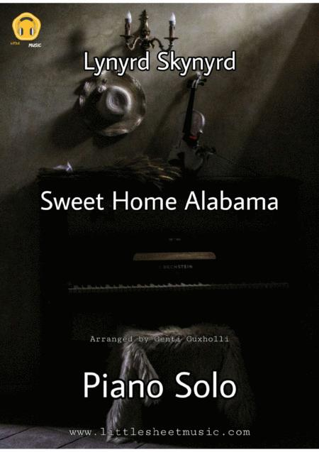 Follow along with your teacher dan in the best tutorial online. Sweet Home Alabama Piano Solo By Lynyrd Skynyrd Digital Sheet Music For Individual Part Lead Sheet Score Download Print H0 576021 801580 Sheet Music Plus