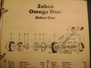 Have A Zebco Omega One In Need Of A Spinner Head I Cannot Seem To Find A S   Fishing Talks