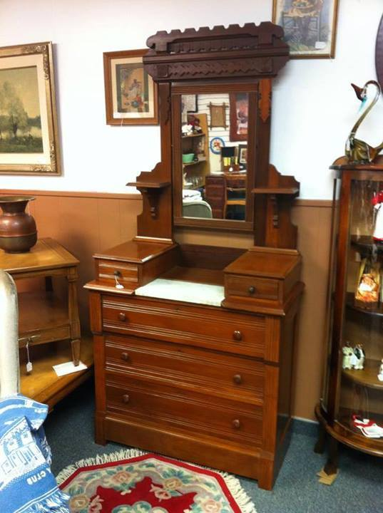 Eastlake Dresser Original Finish My Antique