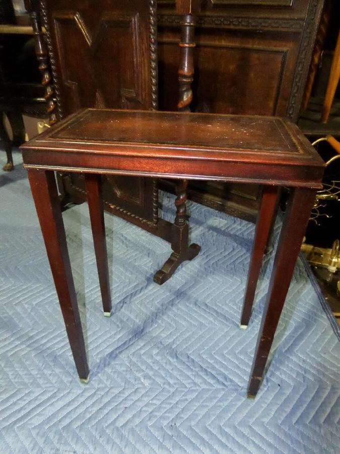Weiman Mahogany Side Table 836 9201 My Antique Furniture