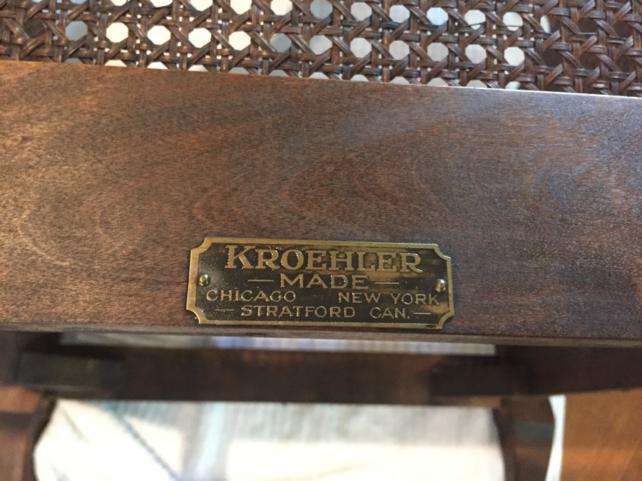 Kroehler Antique Furniture