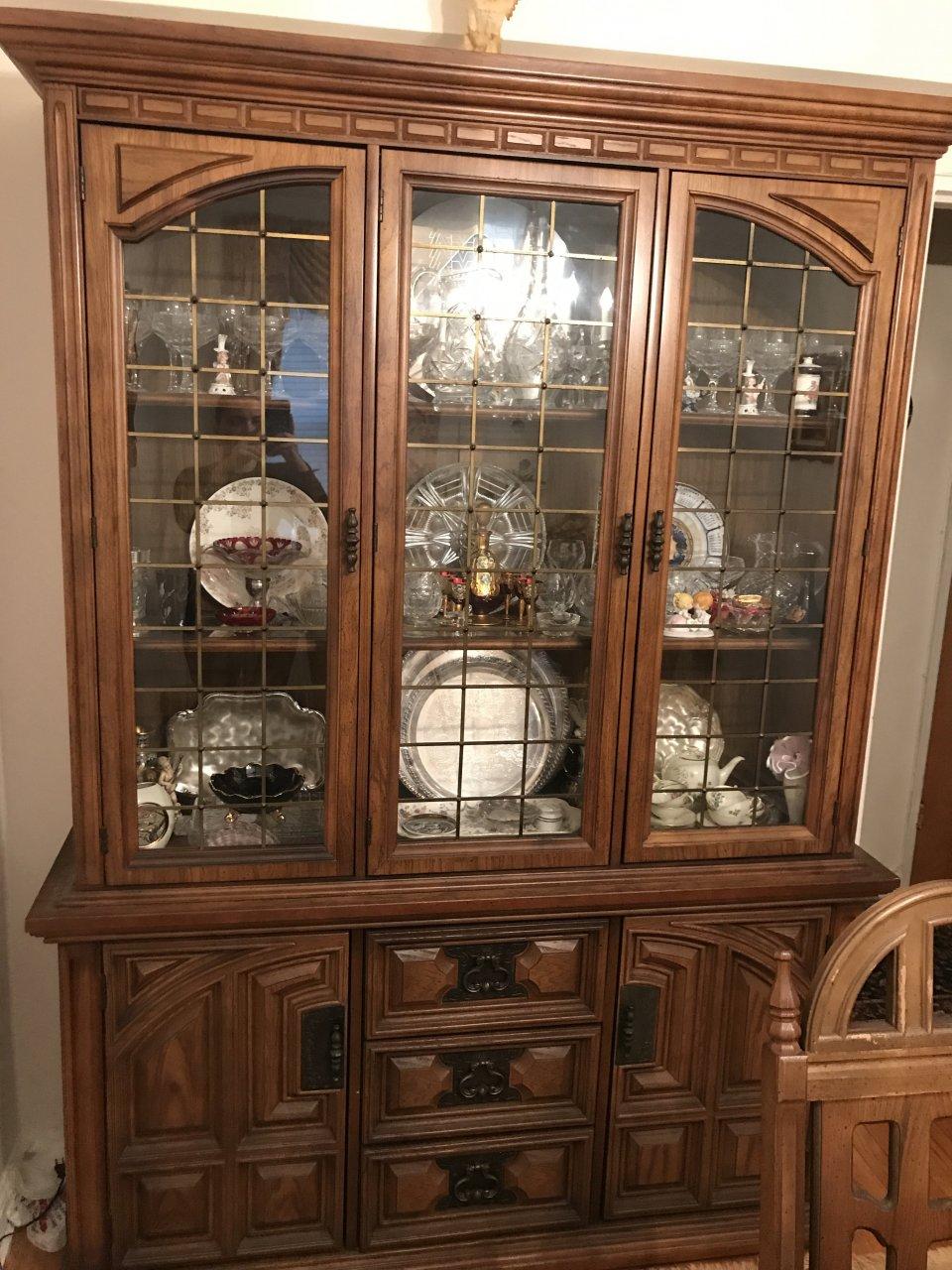 Bassett Furniture Industries China Cabinet My Antique
