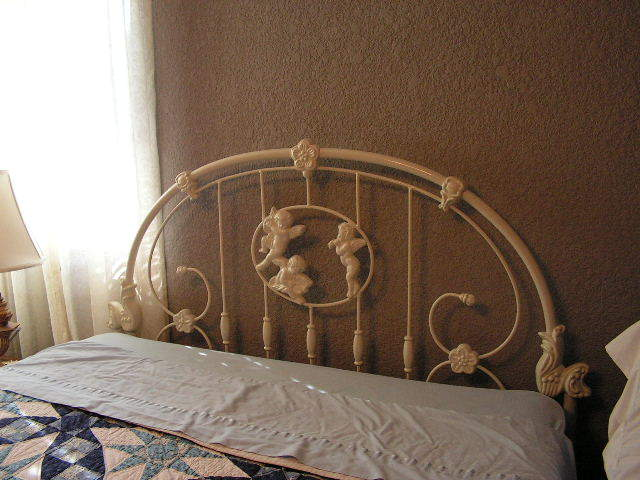 Cherub Metal Frame Queen Size Bed My Antique Furniture