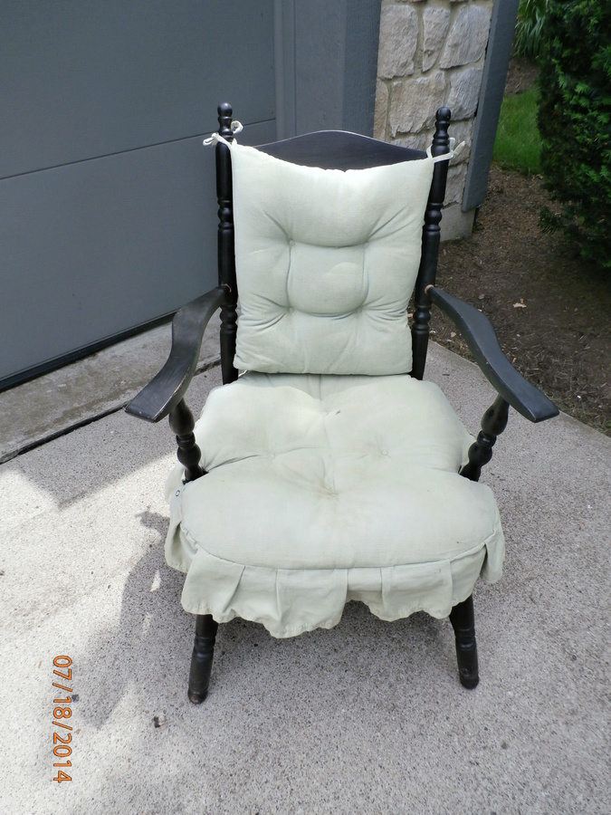 Mid 40s Armed Cricket Chair My Antique Furniture Collection