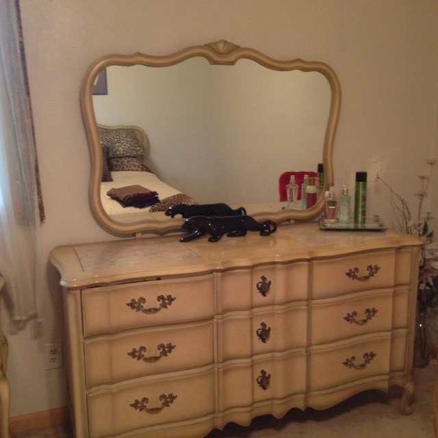 Drexel Heritage French Provencial Bedroom Suite My