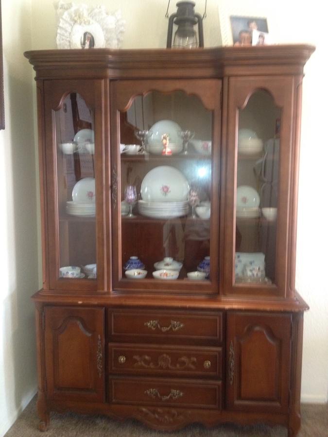 Old Bassett China Cabinet Cabinets Matttroy