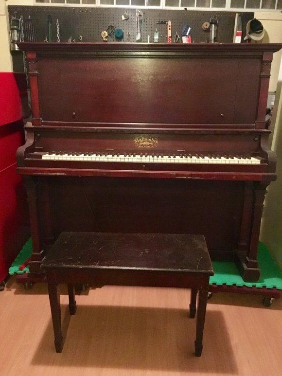 Mathushek Upright SN # 37,461 | My Piano Friends