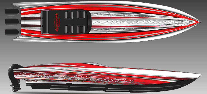 Outerlimits Introducing Outboard-Powered SL 41 Sportboat