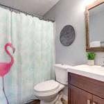 Imperial Home 15 Piece Bathroom Set Shower Curtain And Rug Bathroom Sets Bath Set Bath Mats With Bath Curtain Set Pink Flamingo Massgenie Com