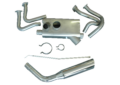 power flow exhaust system for cessna 177