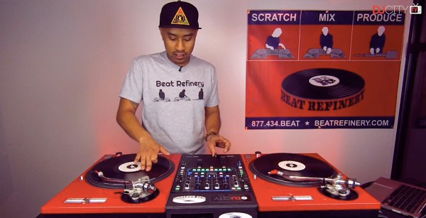 Turntable Techniques: How to Perform the 'Rockit' Scratch ...