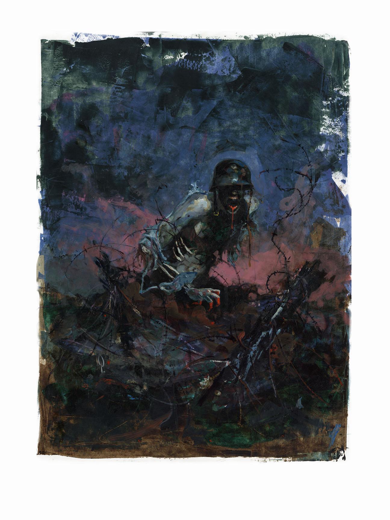 FINE ART PRINT Cover Art By George Pratt 17 X 22