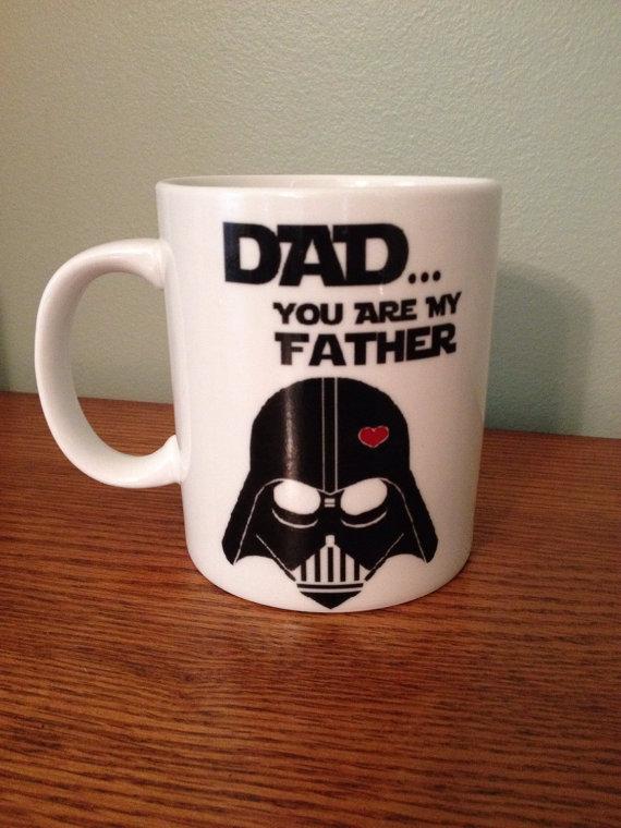 Star Wars DAD You Are My Father Custom Coffee Mug On
