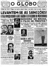 29 de Maio de 1936, Geral, página 1