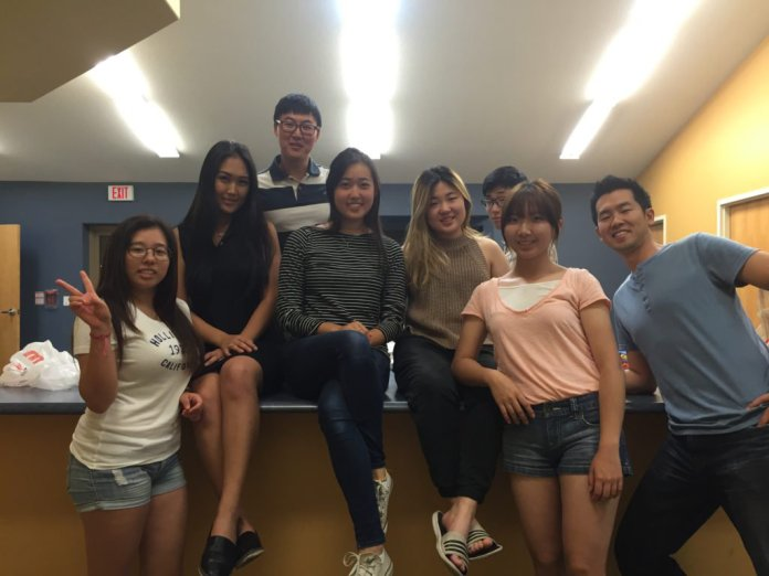 (From left: Esther, Grace, Anthony, Joy, Irin, Terry, Jeesu