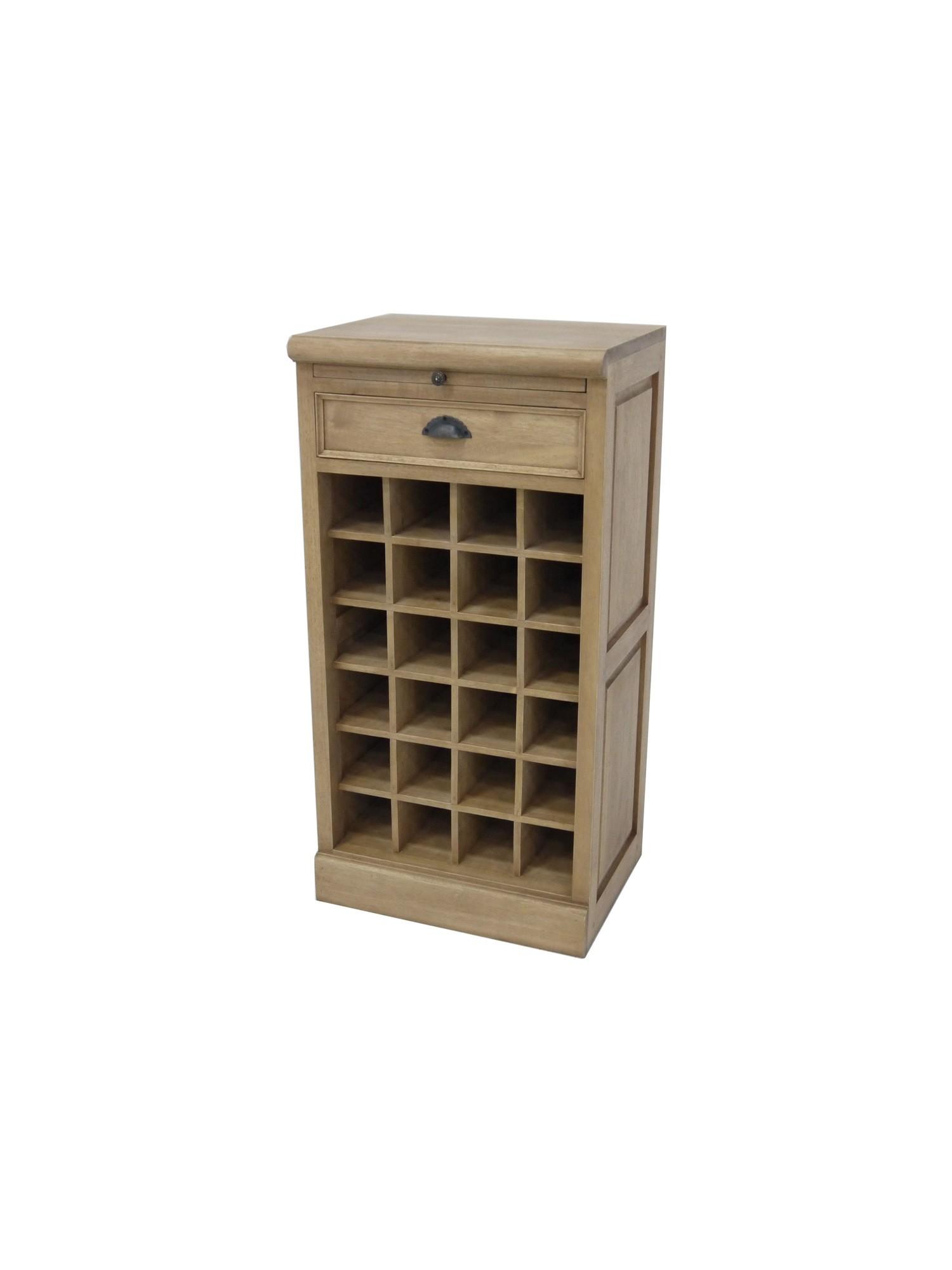 meuble bar range bouteilles tradittion h 96cm