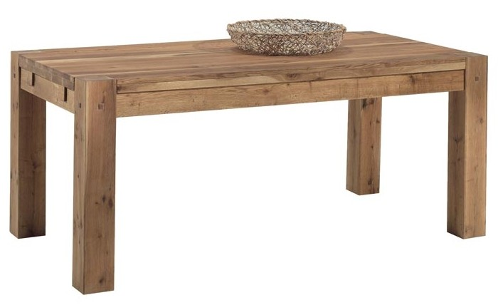 table a manger extensible bois de chene 180 280 fjord