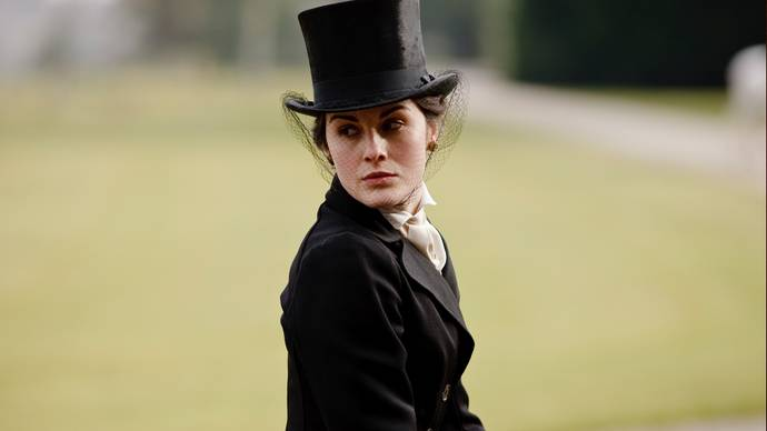 Image result for mary from downton abbey in hat