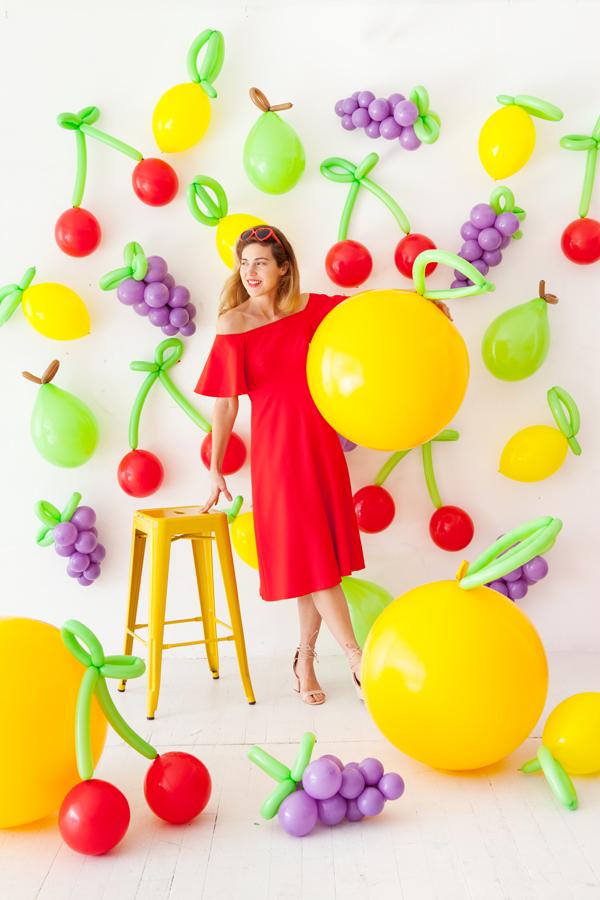 DIY Balloon Fruit | Oh Happy Day!