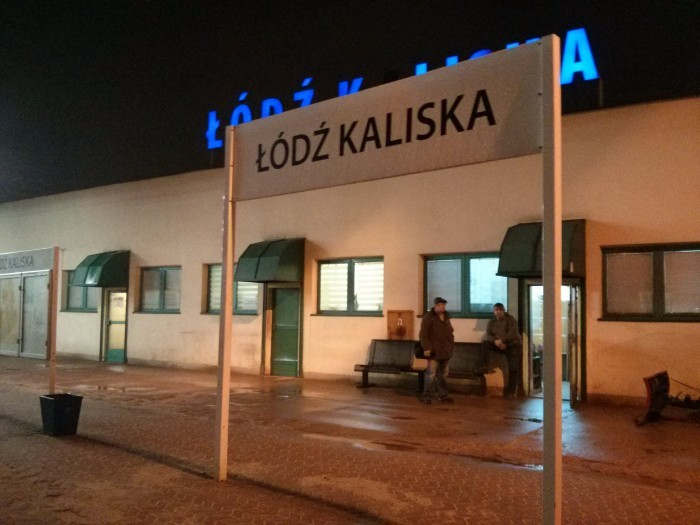 Željeznička postaja Łódź Kaliska © Marijana B.