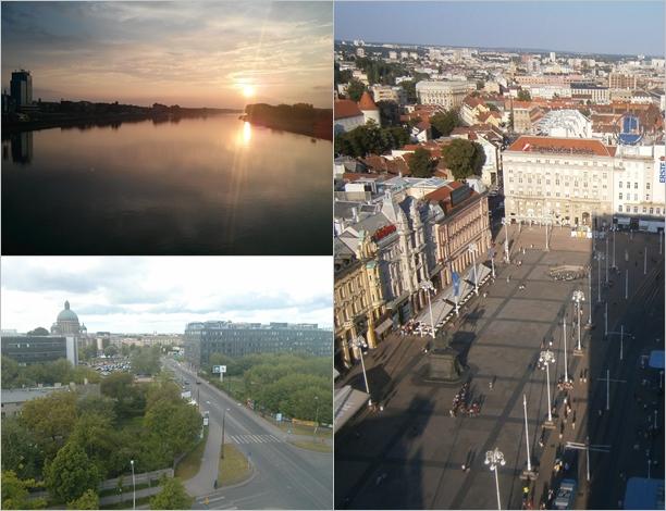 Osijek, Łódź & Zagreb © Marijana B.