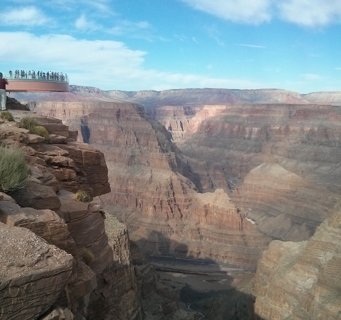 Grand Canyon as one of the stops on our USA road trip