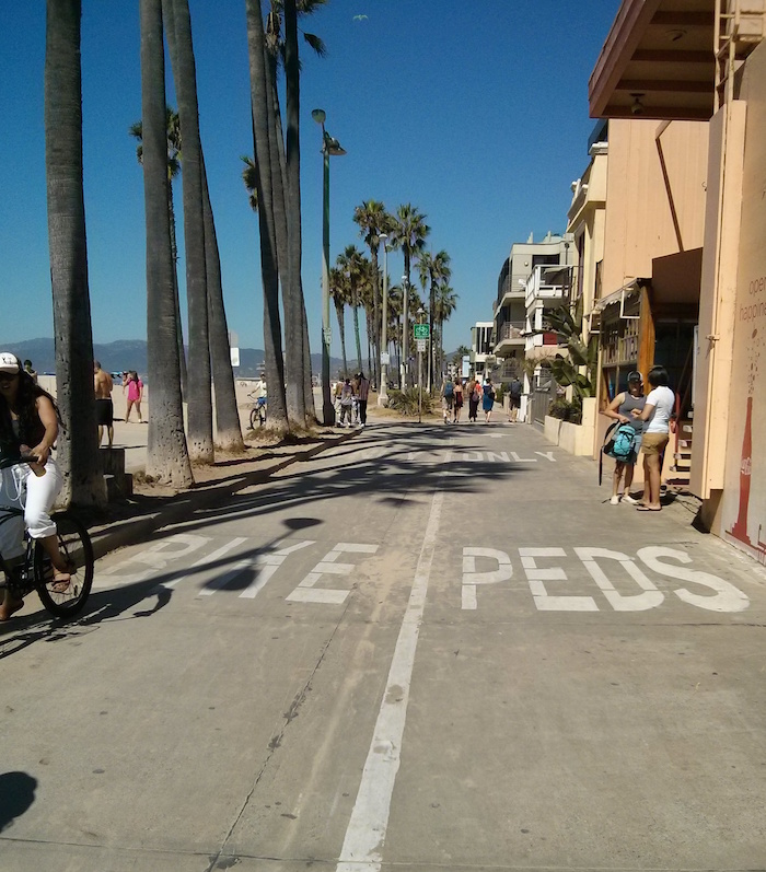 Venice Beach, LA as one of the stops on our USA road trip