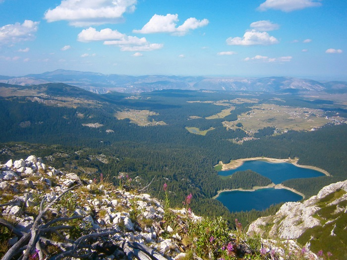 View of the Black Lake, Durmitor, Montenegro