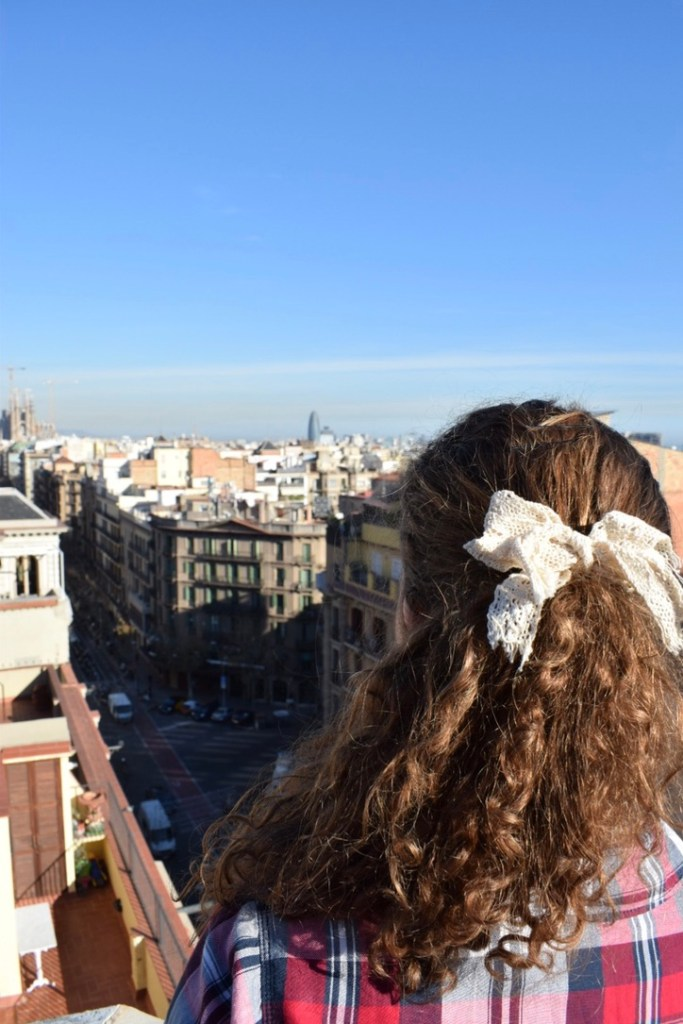 View from La Pedrera, Casa Milà, Barcelona | Lady of Awesome