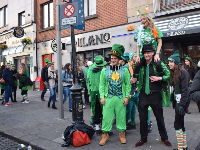 Paint the town green: Saint Patrick's Day in Dublin