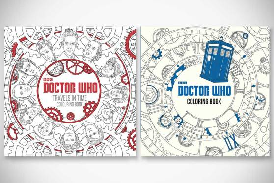 Doctor Who Adult Coloring Books (Paperback)