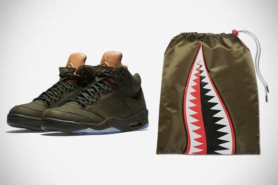 "Air Jordan 5 ""Take Flight"" Sneakers by Nike"