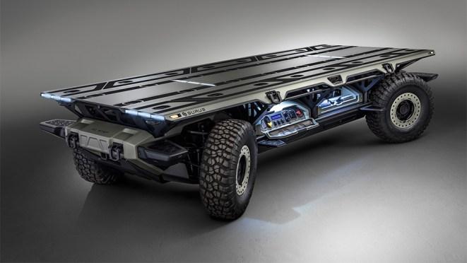 GM SURUS Autonomous Fuel Cell Electric Truck