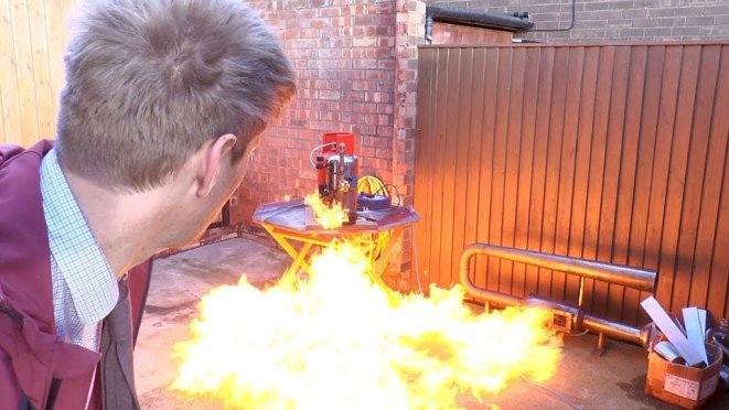 Alexa Activated Fire Blaster by Colin Furze