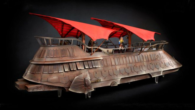 Hasbro Star Wars Vintage Collection Jabba Sail Barge Painted