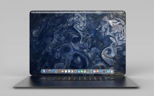 MacBook X Concept by Ludovico Campana