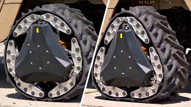 NREC x DARPA Reconfigurable Wheel-Track