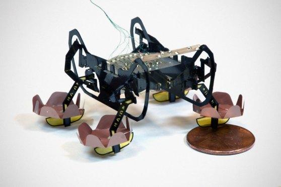 Harvard Ambulatory Microbot Walks On Water