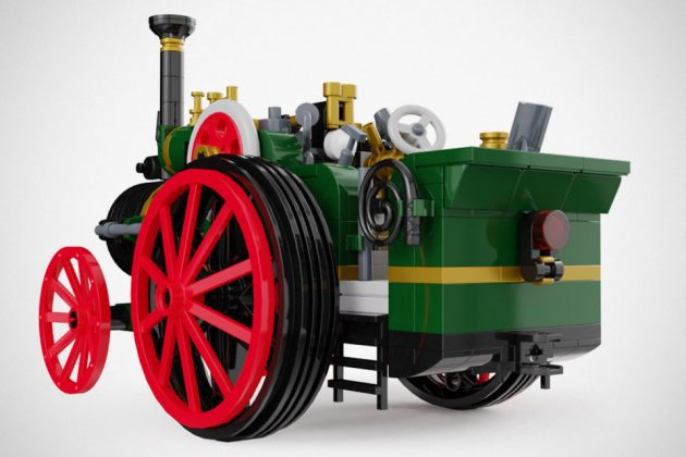 The Old Workhorse Traction Engine Is Not Your Usual LEGO Ideas
