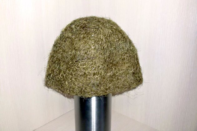 Hat Made Of Woolly Mammoth's Hair