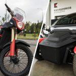 Kalashnikov Has A Civilian Electric Bike And A Twizy-like Electric Car
