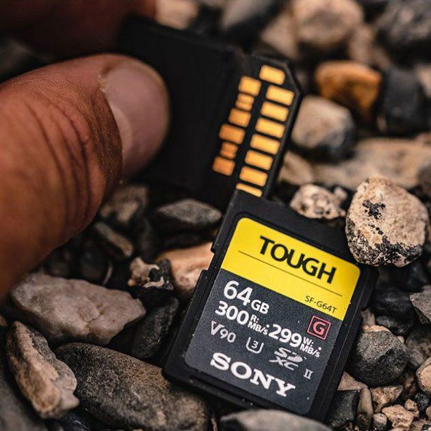 Sony TOUGH SF-G SD Card