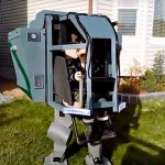 Cool Dad Made A 'Working' Mechwarrior Costume For His Kids