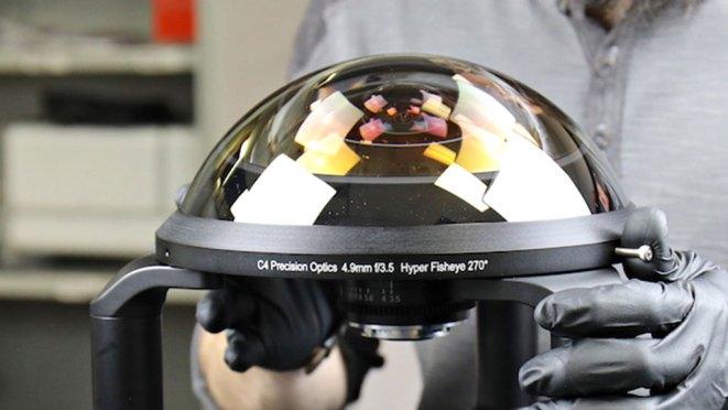C-4 Optics Hyper Fisheye Lens