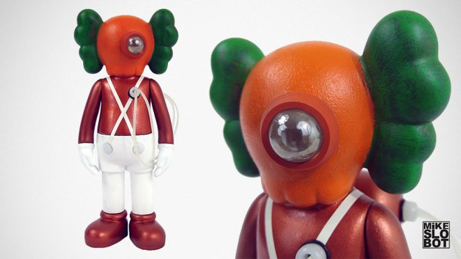Slonkabot 1000-5YL Robot Art Figure